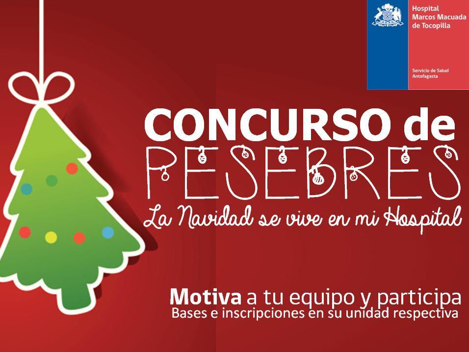 afiche concurso pesebre